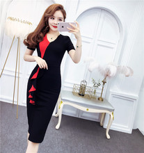 Midi Wrap Summer Dress 2019 for Women Casual Bandage Dresses Short Sleeve Vintage Bodycon Clothes Vestido