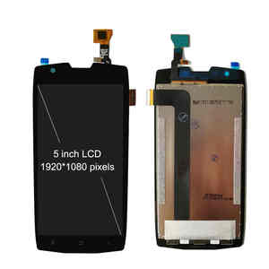 Image 2 - شاشة عرض LCD مقاس 5 بوصات بإطار لـ Blackview BV7000 BV 7000 Pro شاشة عرض تعمل باللمس مع محول رقمي للتجميع BV7000pro شاشة أندرويد 7.1