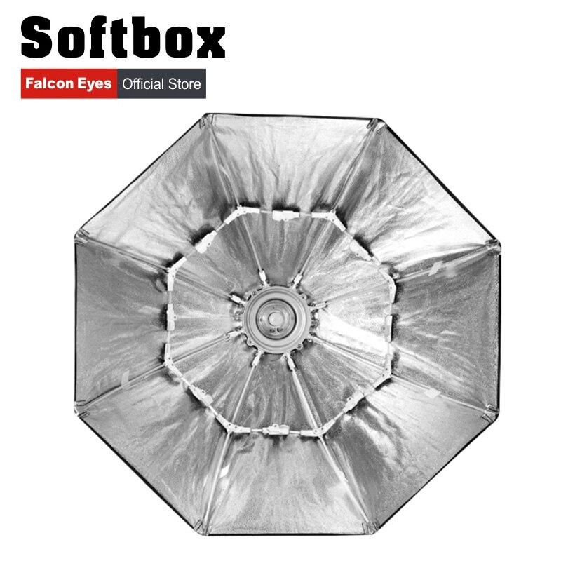 US $69 3 10% OFF|Falcon Eyes Portable Foldable Octagon Softbox  60/80/90/110cm Umbrella Diffuser Reflector for Photo Studio Flash  Speedlite-in Photo