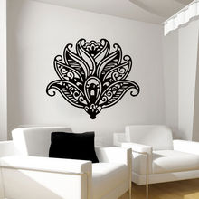 Lotus Flower Wall Sticker Yoga Art Pattern Decal New Design Mural Home Flowers Decoration Poster AY744