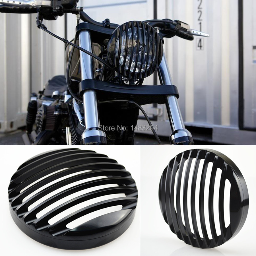 Aluminum Alloy Aluminum Custom Headlight Grill Cover Fits