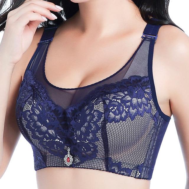 d364935a5c WeseeLove 38-48 Plus size bra big bra large size cup lingerie bra push up  breathable comfortable healthy brassiere underwear bra