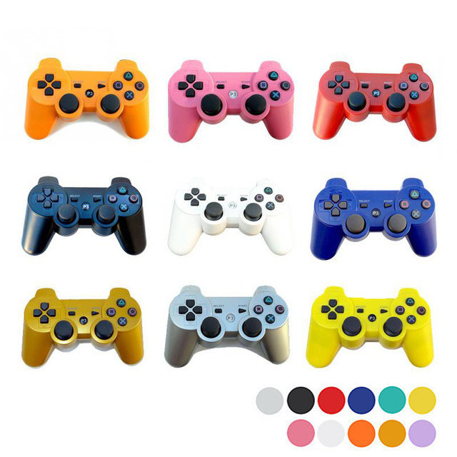 For SONY PS3 Controller 2.4GHz Dualshock Bluetooth Gamepad Joystick Wireless Console For Sony Playstation 3 SIXAXIS Controle
