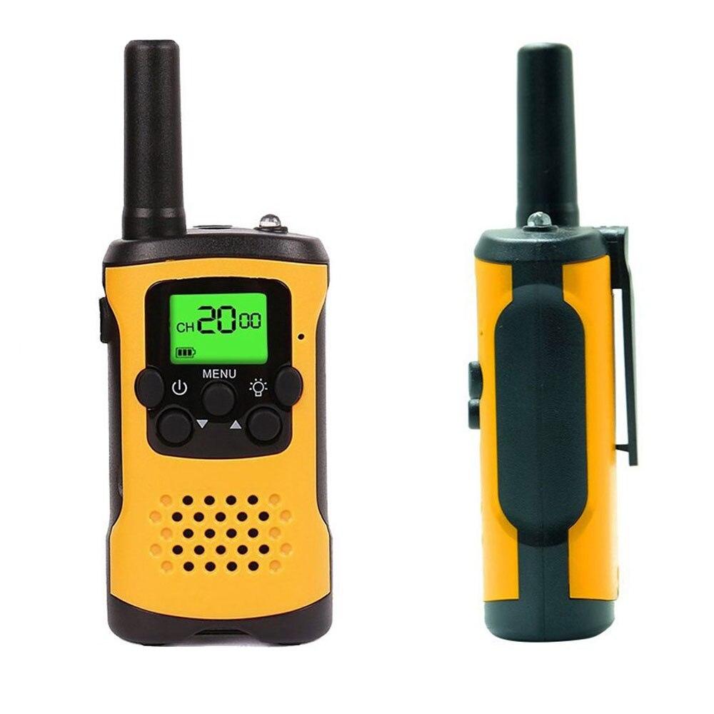 Kinder Walkie Talkies, 22-Kanal FRS/GMRS Radio, 4-meile Palette Mini Zwei Funkgeräte mit Taschenlampe und LCD Bildschirm Geschenk