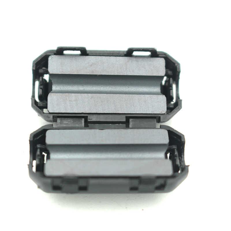 5 adet 3.5mm Gürültü Bastırma Ferrit Filtreler EMI RFI Klip Choke Manyetik Halka Ferrit Çekirdek Kablo Filtresi güç Kablosu