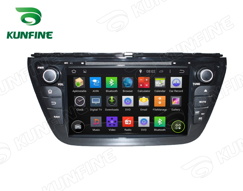 Car dvd GPS Navigation player for SX4 2014 8 inch B