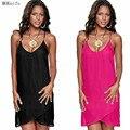 2017 Лето dress Women Sexy dress бальные платья плюс размер платье металл перспектива соболезнуем пояса пляж dress vestidos zanzea