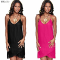 2017 summer dress mulheres sexy dress vestidos plus size vestido de festa perspectiva condoer cinto de metal beach dress vestidos zanzea
