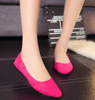 2018 new Korean version flock flat woman shoes lady suede shallow casual work shoes fashion women's single shoes female loafers цена