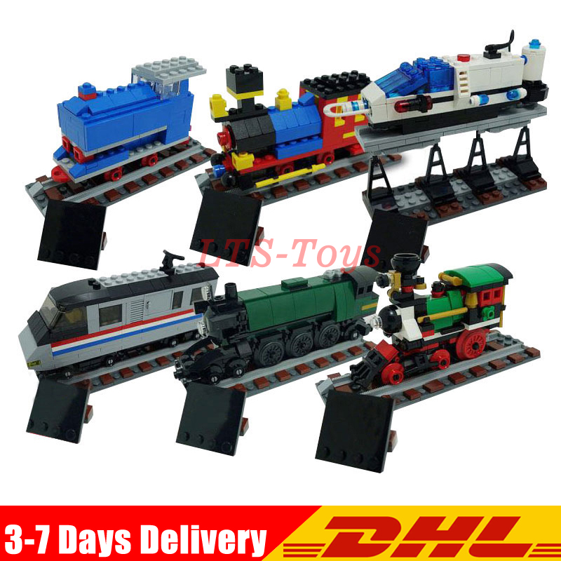 DHL Lepin 21029 1176Pcs Technic Series The 50 Years on Track Building Block Compatible 4002016 Bricks Model Toys ...