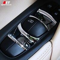 Car Styling Window Button Sticker For Nissan Teana Lannia Kicks Murano Chromium Styling For Nissan 2014