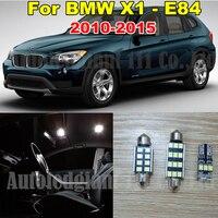WLJH 13x Canbus Pure White No Error LED Car lighting Light for BMW X1 E84 Interior light LED Kit 2010 2011 2012 2013 2014 2015
