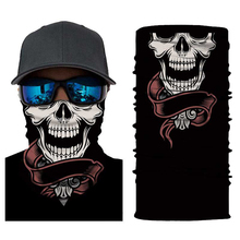 Ghost Face Shield Sun Mask Balaclava Party Bicyle Bike Masks Seamless Skull Skeleton Tube Motorcycle Neck