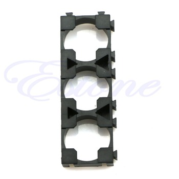 10pcs Electric Car Bike Toy Battery 18650 Spacer Radiating Holder Bracket Black image