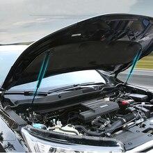 JY нержавеющая сталь 2x опорный стержень гидравлический капот Jackstay крышка двигателя автомобиля аксессуары для HONDA CRV CR-V 2017-2018