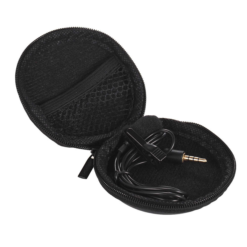 Clip-auf Wired Mikrofon Mini Krawatte Revers Mic 3,5mm Stecker für Smartphone PC Laptop Chatten Gesang Karaoke mit tragen Fall