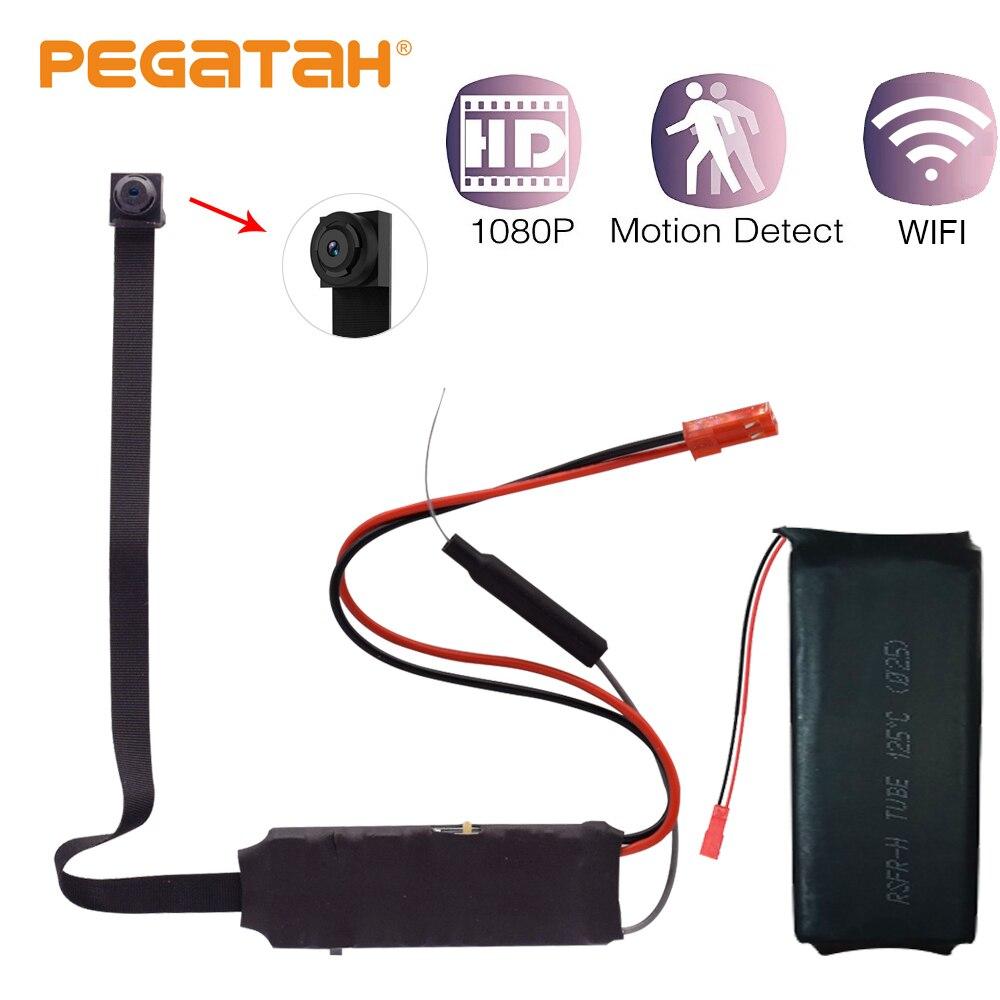1080P Mini Wifi Wireless Camera CCTV Web video surveilla camera mini body  Camera Recording remote Motion Detection Alarm hidden