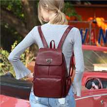 HOT Fashion Women Backpack High Quality Leather Backpacks for Teenage Girls Female School Casual Shoulder Bag Bagpack mochila стоимость