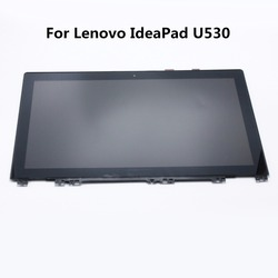 15 6 laptop lcd assembly with frame for lenovo ideapad u530 display touch screen glass digitizer.jpg 250x250