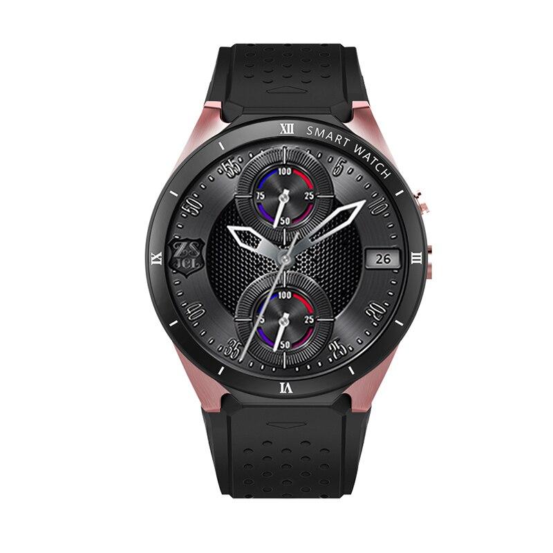 KW88 PRO Smart Watch 1.39 Inch MTK6580 Android 7.0 GPS+WIFI+1gb+16gb Smart Watch 460mAh 2.0 Mega Pixel Heart Rate Monitor watch - 2