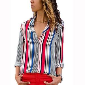 b82f8859 ISHOWTIENDA Autumn Long Sleeve Shirts Women Tops blouse