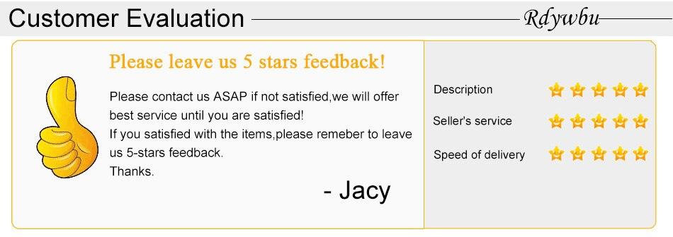 8.Customer Evaluation