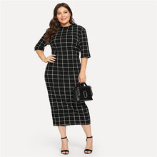 Elegant Plus Sized Dress for Women