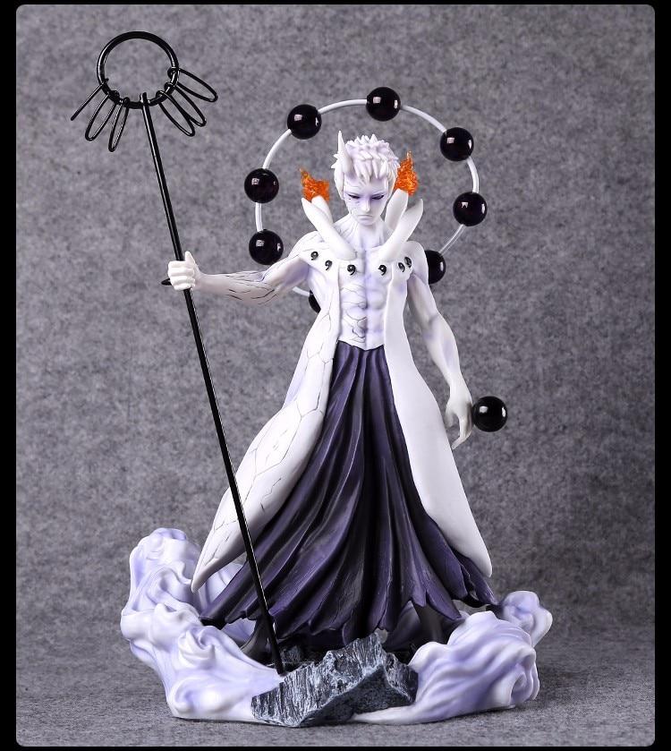 Anime Naruto Figure Jouets Uchiha Madara Figurine Statues 17cm