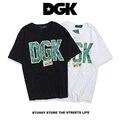 2017 hot folha de cânhamo dgk dgk t shirt das mulheres dos homens tigre impresso T-Shirt de Algodão de Alta Qualidade Skates Hip Hop Lazer Tshirt 3D Tee