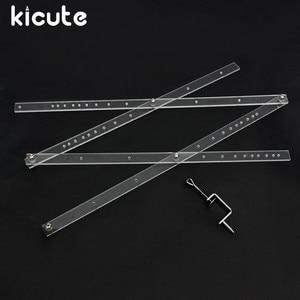 Image 1 - Kicute ممتاز 50 سنتيمتر مقياس للطي حاكم الفنان بانتوغراف نسخة Rluers رسم المكبر المخفض أداة ل مكتب اللوازم المدرسية