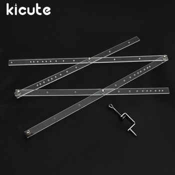 Kicute Excellent 50cm Scale Folding Ruler Artist Pantograph Copy Rluers Draw Enlarger Reducer Tool for Office School Supplies - DISCOUNT ITEM  18% OFF All Category