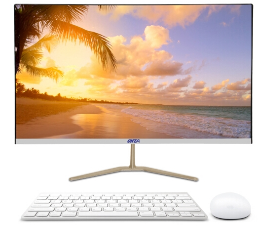 With 19.5/23.6 Inch Lcd Full HD Monitor Panel And CPU I7/i5 RAM 4/8GB SSD 120GB All In One Desktop Pc With Wifi Module