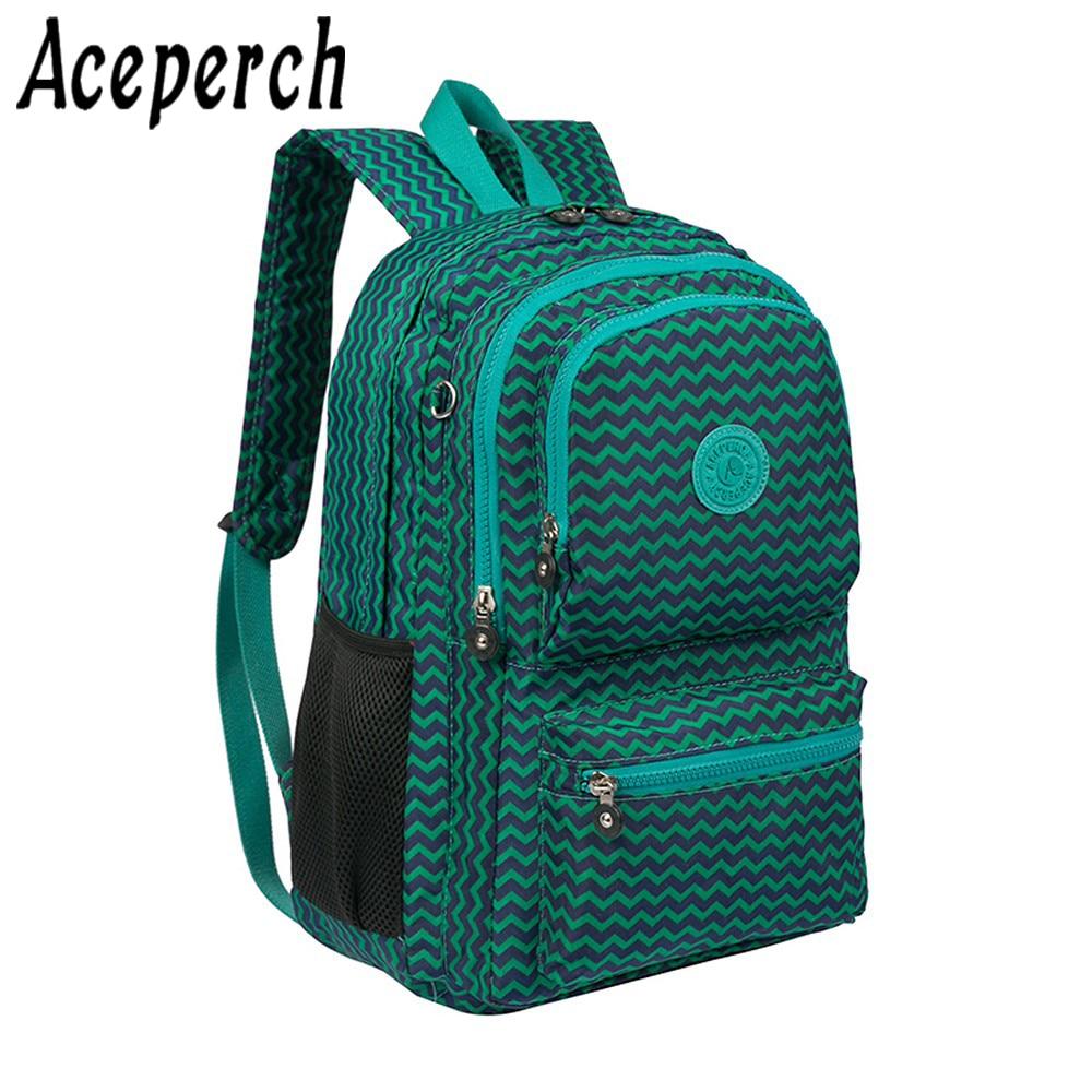 ACEPERCH Girl 100% Original 2019 Original Backpack Child Girl School Bags Bolsa Mochila Feminina Laptop Travel Bag sac a dos