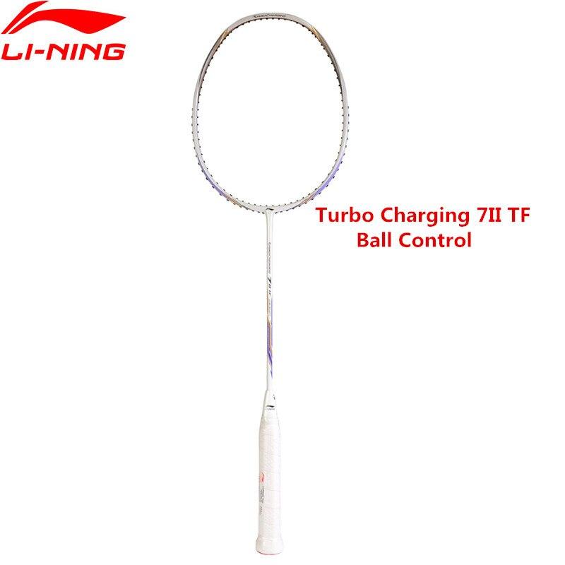 Li-Ning Turbo Charging 7II TF Badminton Racket Li Ning Sports Ball Control Racquets AYPM326 L849