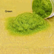 6 colors Outdoor landscape construction sand table model material lawn turf grass powder viscose