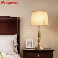 Латунная настольная лампа светильник настольный для декора медная лампа настольная в спальню лампа настольная для гостиной ночники с ткан