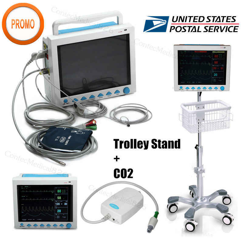 Detail Feedback Questions about USA Fedex ICU Patient Monitor CO2