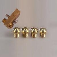 Ultimaker 2 + Olsson kit blocco per stampante 3D FAI DA TE per 1.75/3mm filamento Olsson block hotend E3D ugello intercambiabili