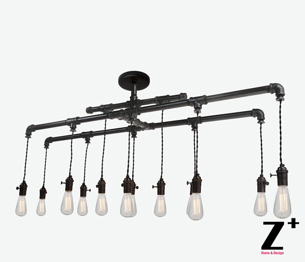 Industrial Lights Diy Hand Made Industrial Metal Custom