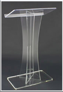 Crystal Clear Acrylic Podium To Speak Transparent Bible Christian Church Pulpit Lectern Large Custom