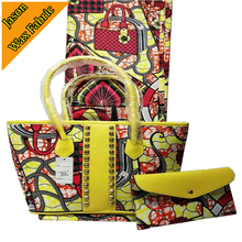 Высокое качество Африканский Воск принты супер воск сумки африканском стиле 100% хлопок Анкара из парафинированной ткани 6 двор для платье DF