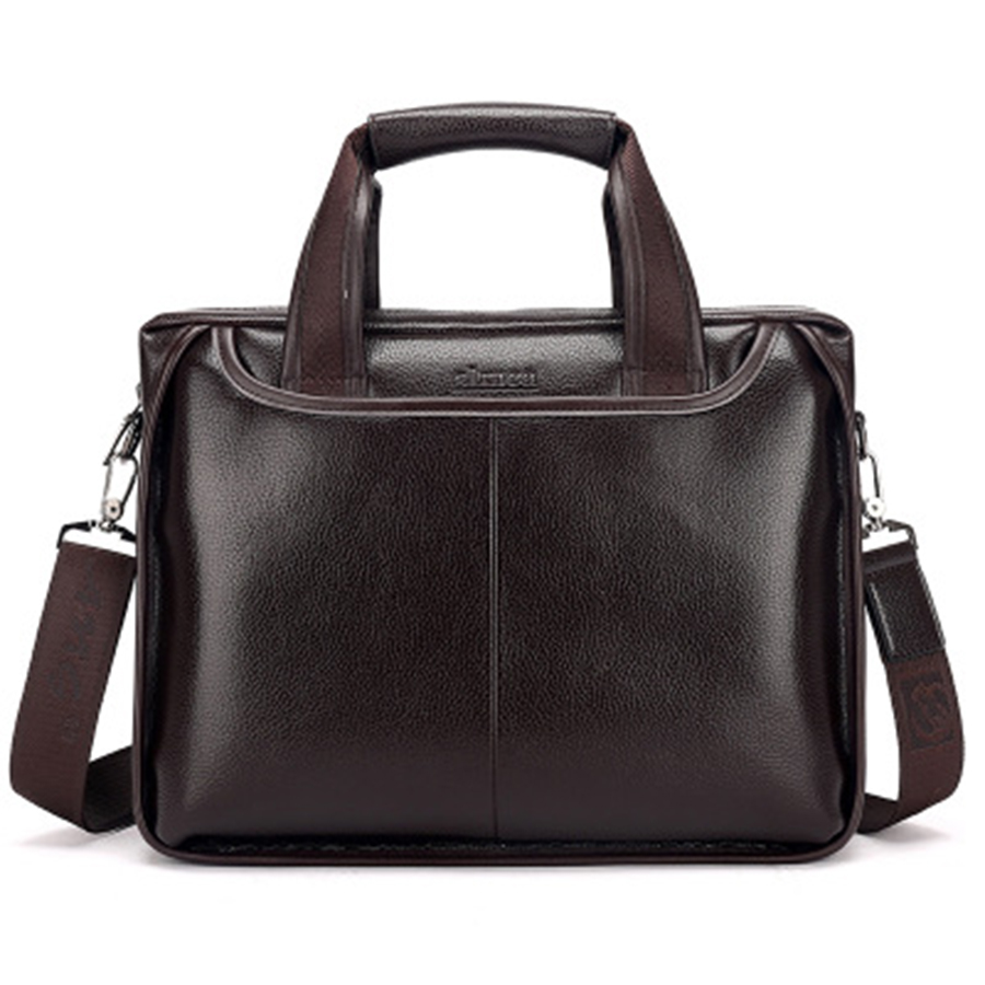 PU Fashion Laptop Briefcase Messenger Bag Lawyer Business Bag Handbag Men Borsa Porta Computer Abogado Man Bag Big 50GWB19(China)
