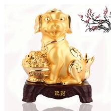 dog ornaments Zodiac Wangcai fortune twelve zodiac birthday gifts crafts Home Furnishing living room decoration