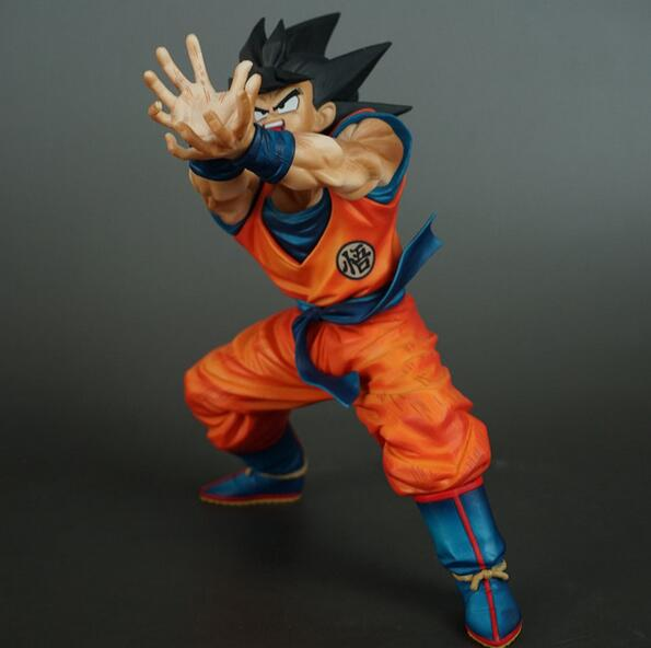 NEW hot 17cm Dragon ball Kakarotto Son Goku Kamehameha action figure toys collection doll Christmas gift with box new hot 23cm the frost archer ashe vayne action figure toys collection doll christmas gift with box