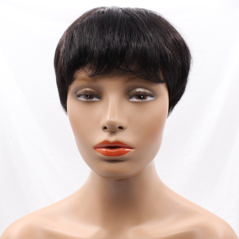 Colodo Short Bob Haircut Lace Front Natural Afro Wigs For Black