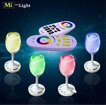 Mi light 2W 2.4G wifi Win light 5V Wireless Group  LED Lamp Party lights USB charge RGBW (RGB+Warm white) Magic Crystal Glass