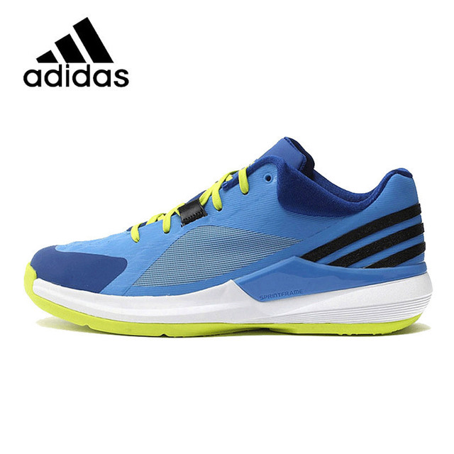 4b8fd33bbcfc ADIDAS Original Mens Basketball Shoes Mesh Breathable Footwear Super Light  Comfortable For Men S83778 S83884