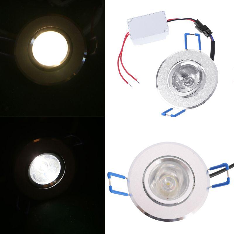 1W LED Lights 85 265V Cabinet Mini Downlight Spot Ceiling Lamp in Downlights from Lights Lighting