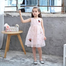Girls White Princess Wedding Dress Children Clothing Summer 2018 Formal Toddler Girl Party Dress For Girls Clothes Kids Dresses все цены