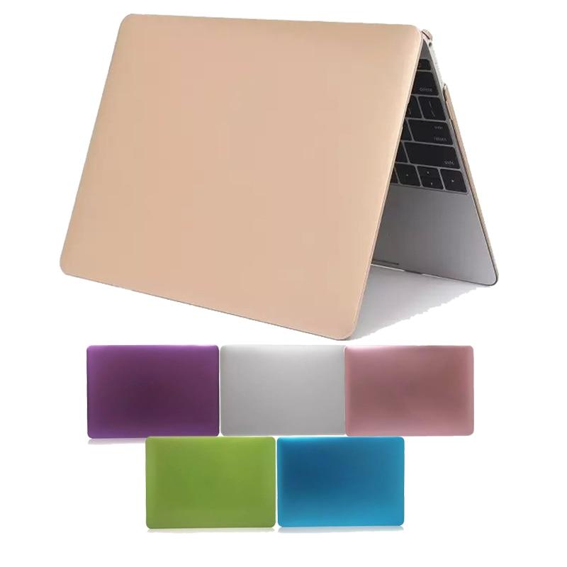New Case For Macbook Pro 13 15 Laptop Case Metal Colors Hard Funda ...